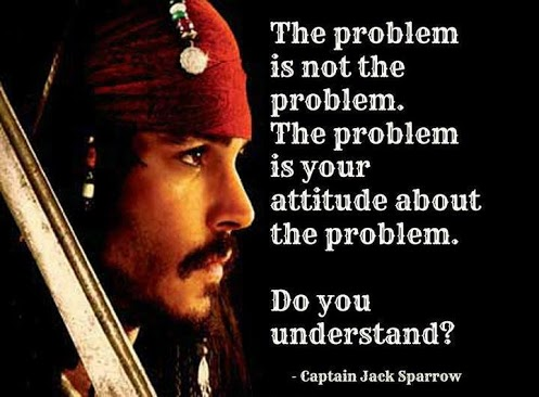 Sage advice from Cap'n Jack Sparrow